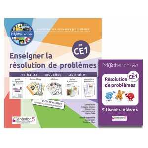 M@ths en-vie - Enseigner la résolution de problèmes au CE1 - Génération 5