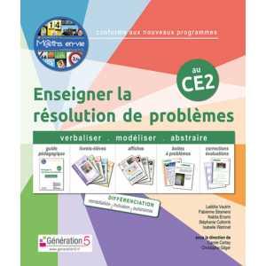 M@ths en-vie - Enseigner la résolution de problèmes au CE2 - Génération 5