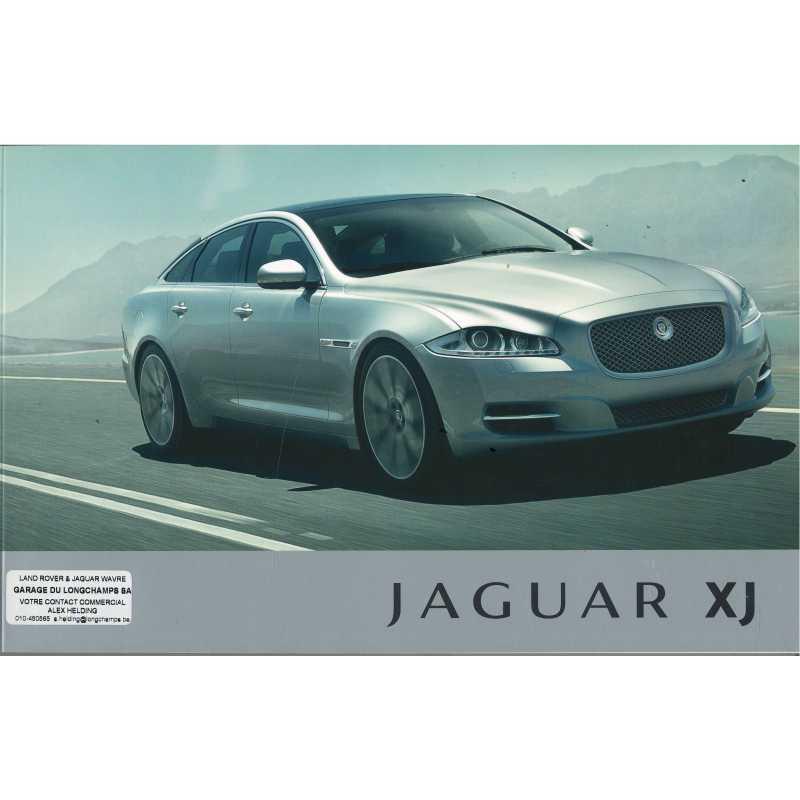 Brochure JAGUAR XJ X351