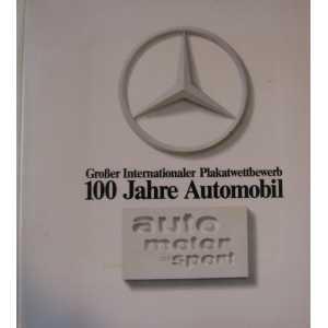 Brochure AMS 100 ans d'Affiches Automobile