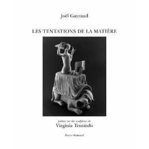 Les Tentations de la matière  Joël Gayraud ; Virginia Tentindo