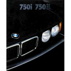 Brochure BMW 750i