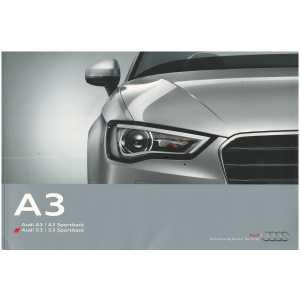 Catalogue Audi A3 et S3 (Français) 10/13 ** Librairie SPE **