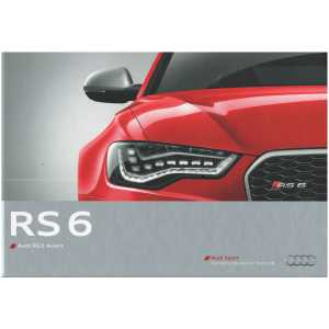 Catalogue Audi RS 6 Avant (Français) 09/13 ** Librairie SPE **