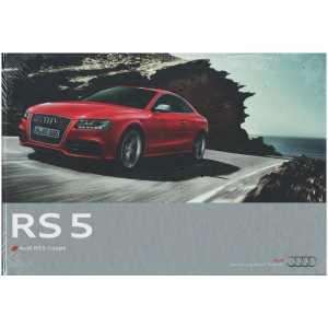 Catalogue Audi RS 5 Coupé (Français) 03/10 ** Librairie SPE **