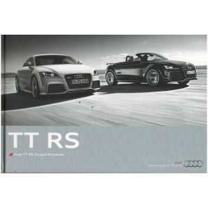 Catalogue Audi TT RS Coupé et Roadster (Français) 07/10  ** Librairie SPE **