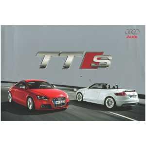 Catalogue Audi TTS Coupé et Roadster (Français) 08/08  ** Librairie SPE **