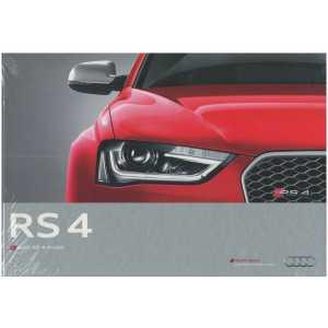Catalogue Audi RS 4 Avant (Français) 05/12 ** Librairie SPE **
