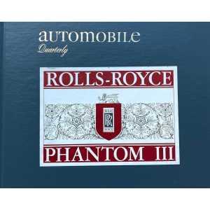 Automobile Quarterly Rolls Royce Phantom III N°2
