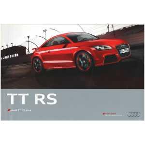Dépliant Audi TT RS Plus (Français) 02/12 ** Librairie SPE *