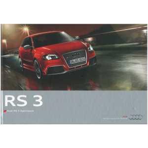 Catalogue Audi RS3 Sportback (Français) 12/10  ** Librairie SPE **