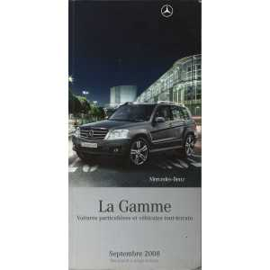 Gamme Véhicules Mercedes 2008