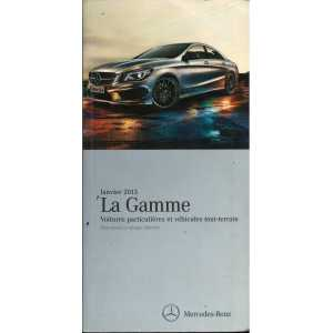 Gamme Véhicules Mercedes 2013