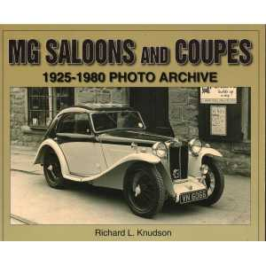 MG Saloons and Coupes