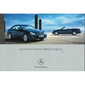 Catalogue Mercedes CLK Coupé