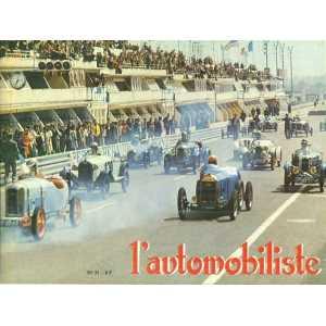 L'Automobiliste N°31  Avril-Mai 1973