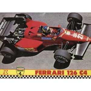Ferrari 126 C4 De CRISTIANO CHIAVEGATO Forte Editore 1984 64 Pages