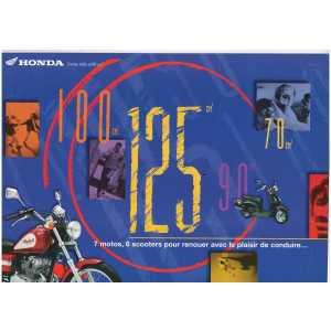 Brochure HONDA