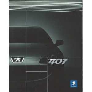 Brochure PEUGEOT COUPE 407