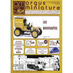 ARGUS MINIATURE N°168 -JOUETS ANTAN Librairie Automobile SPE ARGUS168