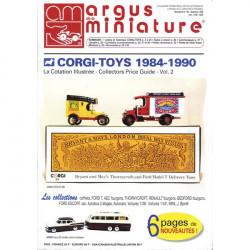 ARGUS MINIATURE N°193 - CORGI - TOYS 1984-1990 Librairie Automobile SPE ARGUS193