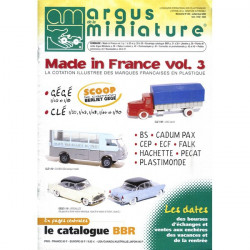 ARGUS MINIATURE N°204 - MADE IN FRANCE VOL.3 Librairie Automobile SPE ARGUS204