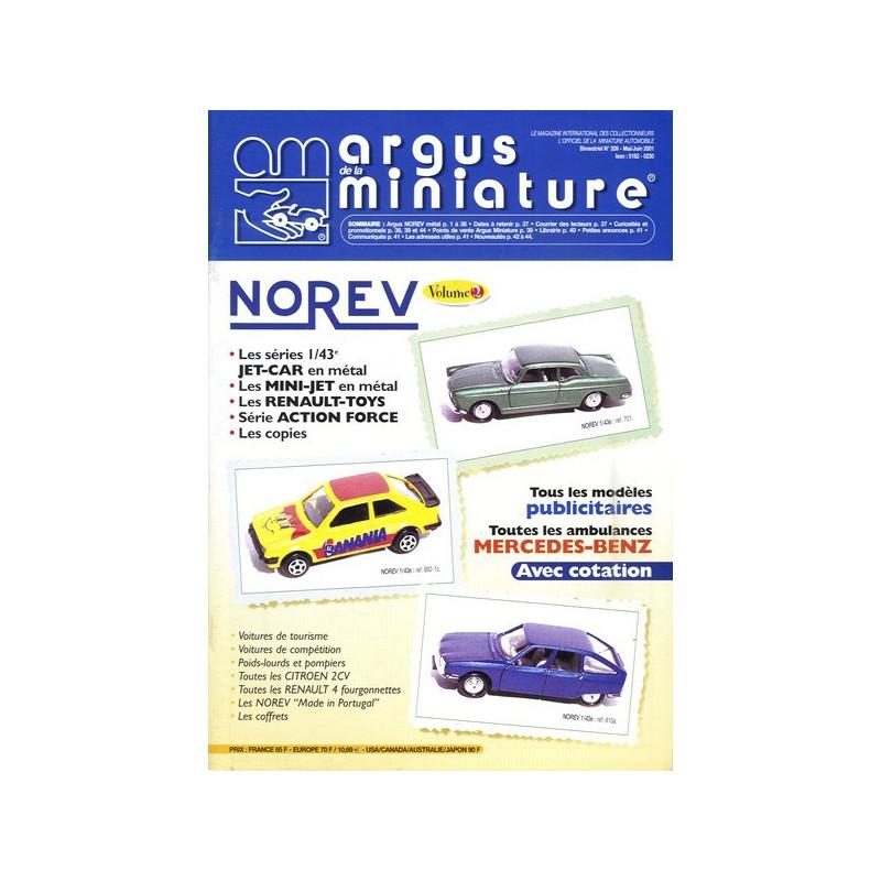ARGUS MINIATURE N°209 - NOREV VOL.2 Librairie Automobile SPE ARGUS209