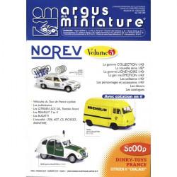 ARGUS MINIATURE N°210 - NOREV VOL.3 Librairie Automobile SPE ARGUS210