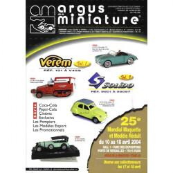 ARGUS MINIATURE N°226 - VEREM 101 0 V459 / SOLIDO 9601 A 99097 Librairie Automobile SPE ARGUS226