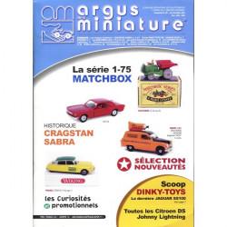 ARGUS MINIATURE N°237 - MATCHBOX SERIE 1-75 BOITE ALLUMETTES Librairie Automobile SPE ARGUS237