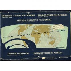 Dictionnaire technique de l 'automobile 1963