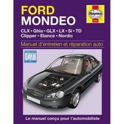 MANUEL ENTRETIEN ET RÉPARATION AUTO FORD MONDEO ( ESS et DIE) de 1993 à 2000 Librairie Automobile SPE 9781859605844