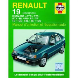 MANUEL ENTRETIEN ET RÉPARATION AUTO RENAULT 19 ESSENCE de 1988 à 1997 Librairie Automobile SPE 9781850107682