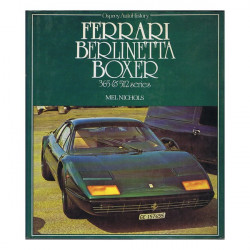 FERRARI BERLINETTA BOXER 365 ET 512 SERIES Librairie Automobile SPE 9780850453263