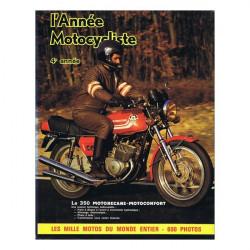 L'ANNÉE MOTOCYCLISTE N°4 1972-1973 Librairie Automobile SPE B004LMYTWI