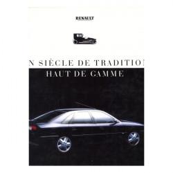 RENAULT - UN SIÈCLE DE TRADITION HAUT DE GAMME Librairie Automobile SPE 9782740401651