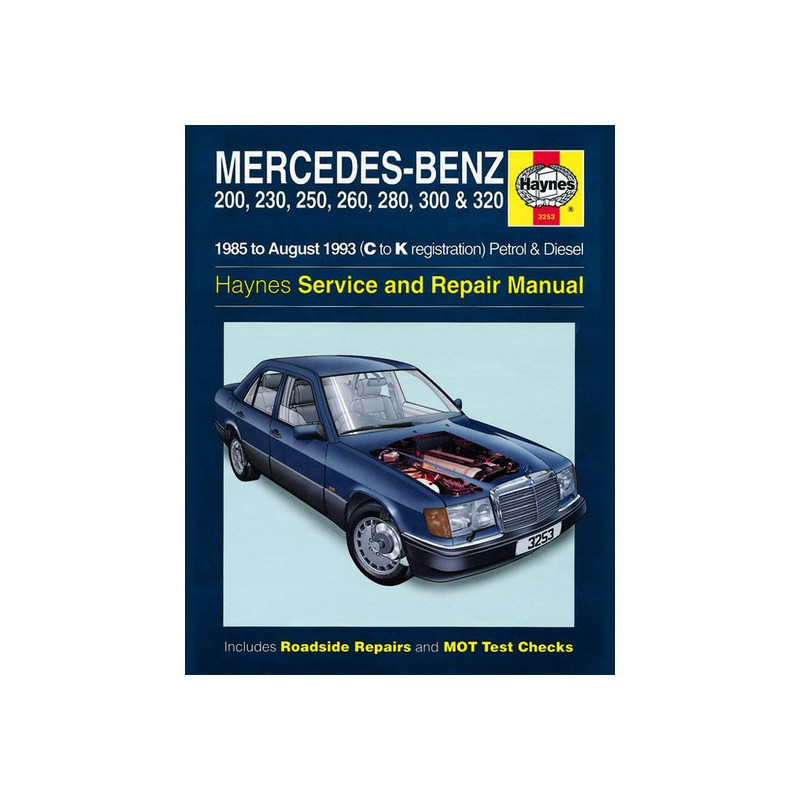 Mercedes 200, 230, 250, 260, 280, 300 & 320 85-93 service and repair manual Librairie Automobile SPE B00HQ1OQ0G