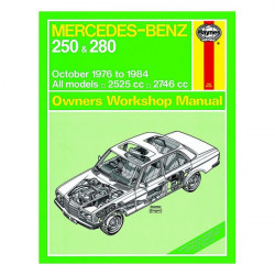 MERCEDES 250 & 280 76-84 owners workshop manual / Haynes Librairie Automobile SPE 677