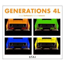 GENERATIONS 4L - 2EME ED. RENAULT 4 L Librairie Automobile SPE 23391
