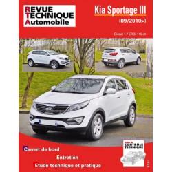 REVUE TECHNIQUE KIA SPORTAGE III DIESEL - RTA HS011 Librairie Automobile SPE 9782726801116