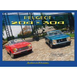 PEUGEOT 204 - 304 Librairie Automobile SPE 9791090084094