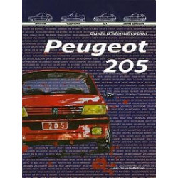 Peugeot 205 «Le Guide d'Identification»