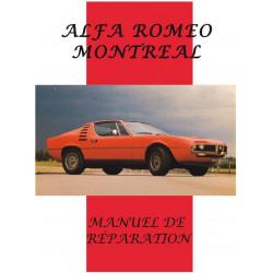 ALFA ROMEO MONTRÉAL MANUEL DE RÉPARATION