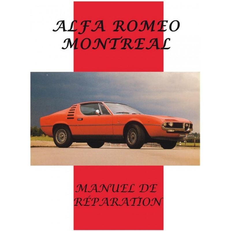 ALFA ROMEO MONTRÉAL MANUEL DE RÉPARATION Librairie Automobile SPE 9782360590766