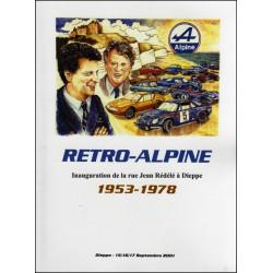RETRO-ALPINE DE 1953 À 1978 Librairie Automobile SPE P123